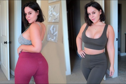 fashion nova leggings try on review